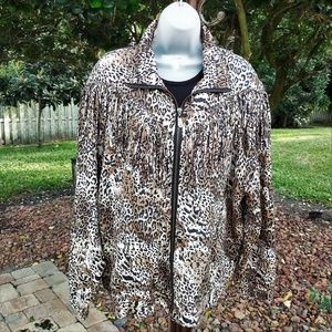 Vintage Fuda International Silk Jacket EUC XL